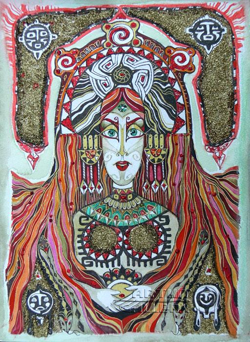 ''Сумерла''.  Сочилина Милена. Продажа картин, предметов декоративно-прикладного искусства