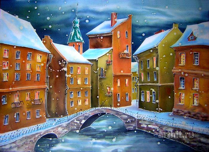 'Petersburg snow'. Vinitskaya Larisa