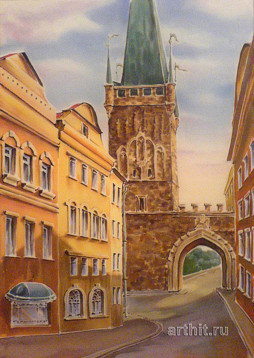 'Prague'  by Vinitskaya Larisa