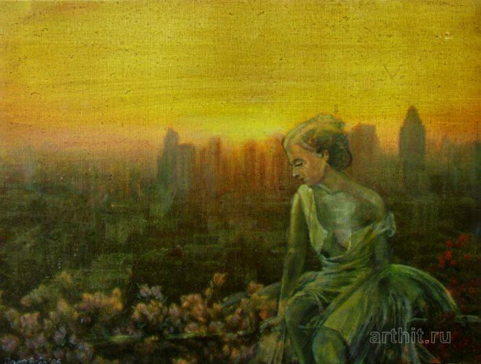 ''Бангкок''.  Эхо Евгения. Продажа картин, предметов декоративно-прикладного искусства