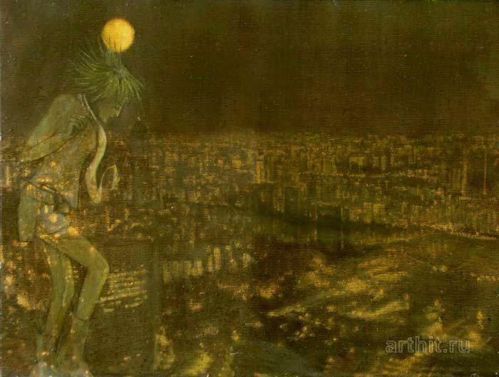 ''Луна''.  Эхо Евгения. Продажа картин, предметов декоративно-прикладного искусства