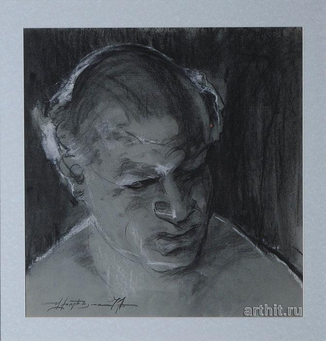 'Man's portrait'  by Horenyan Vagan