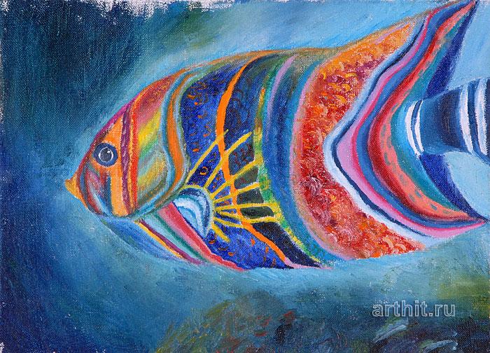 ''Рыба''.  Болохова Вера. Продажа картин, предметов декоративно-прикладного искусства