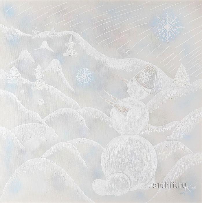 'Zimuska-winter'. Kulchitzkaya Nadezhda