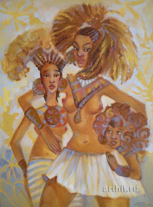 Продажа картины 'Africa's beauty' и другие произведения искусства.