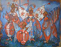 В ангельском саду