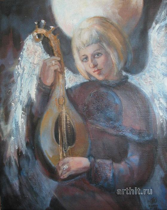 ''Ангел портрет''.  Приведенцева Злата. Продажа картин, предметов декоративно-прикладного искусства