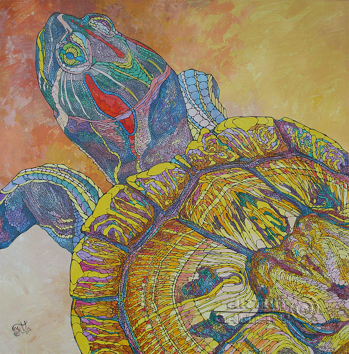 'Reptile smile'. Ternovskaya Irina