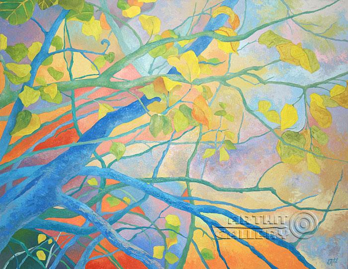 Картины маслом импрессионизм сияние