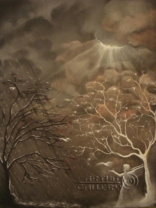 ''Дуальность''.  Хисямова Марина. Продажа картин, предметов декоративно-прикладного искусства