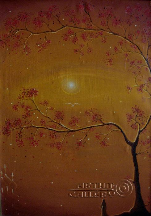 ''Когда...''.  Хисямова Марина. Продажа картин, предметов декоративно-прикладного искусства