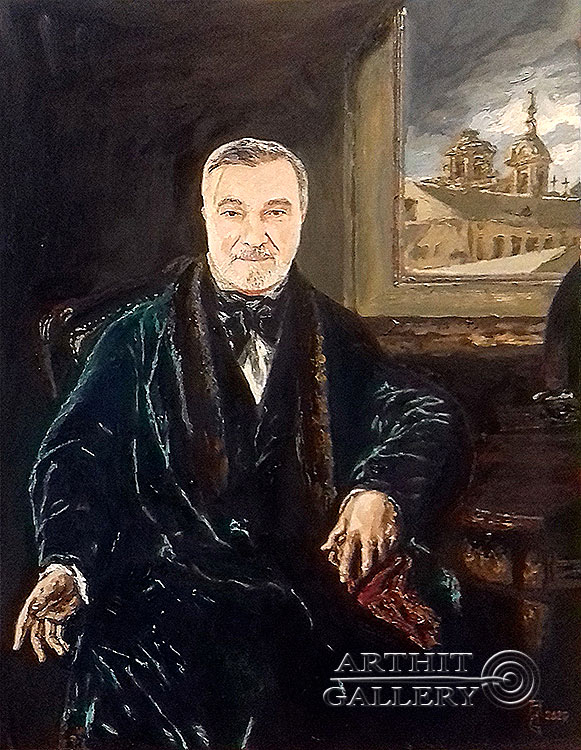 ''Великий Джон''.  Гукалов Александр. Продажа картин, предметов декоративно-прикладного искусства