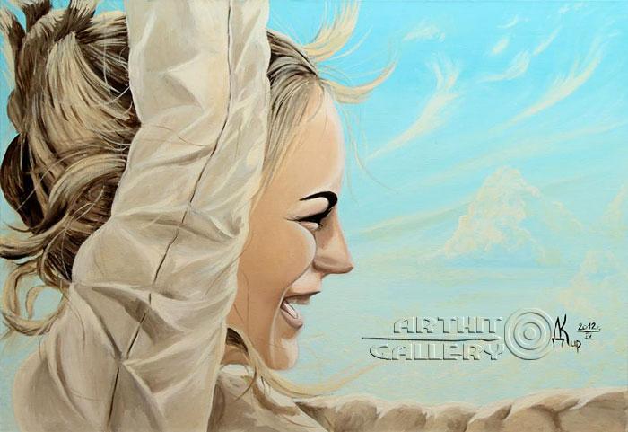 ''Свет новой любви цикл `Свет и Тьма`''.  Кирдянов Денис. Продажа картин, предметов декоративно-прикладного искусства