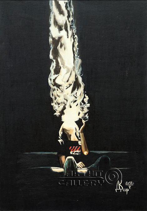 ''Размышление цикл `Свет и Тьма`''.  Кирдянов Денис. Продажа картин, предметов декоративно-прикладного искусства