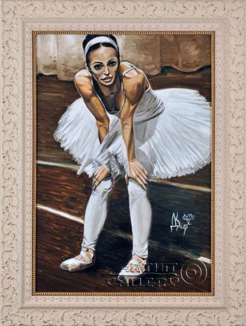 ''Балерина''.  Кирдянов Денис. Продажа картин, предметов декоративно-прикладного искусства