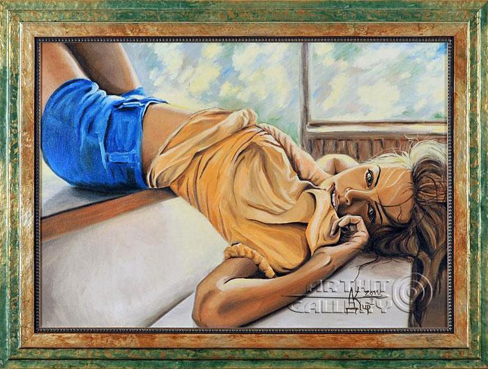''Соткана солнцем, нежная...''.  Кирдянов Денис. Продажа картин, предметов декоративно-прикладного искусства