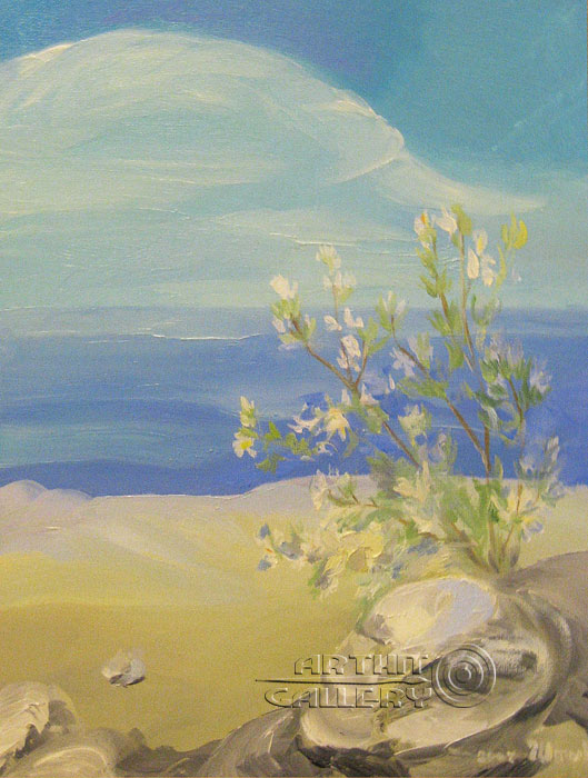 ''Вид на море''.  Штыкова Ирина. Продажа картин, предметов декоративно-прикладного искусства