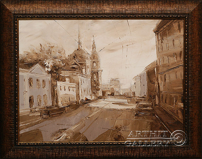 'From the series `Streets`'. Contemporary artists
