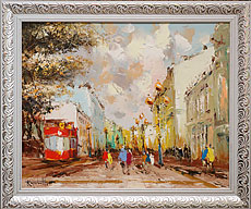Oil paintings for sale. Contemporary art. `Old Moscow`