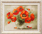 Oil paintings for sale. Poppies