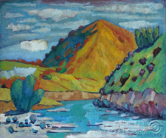 'Mountain river'. Mutall Avaz
