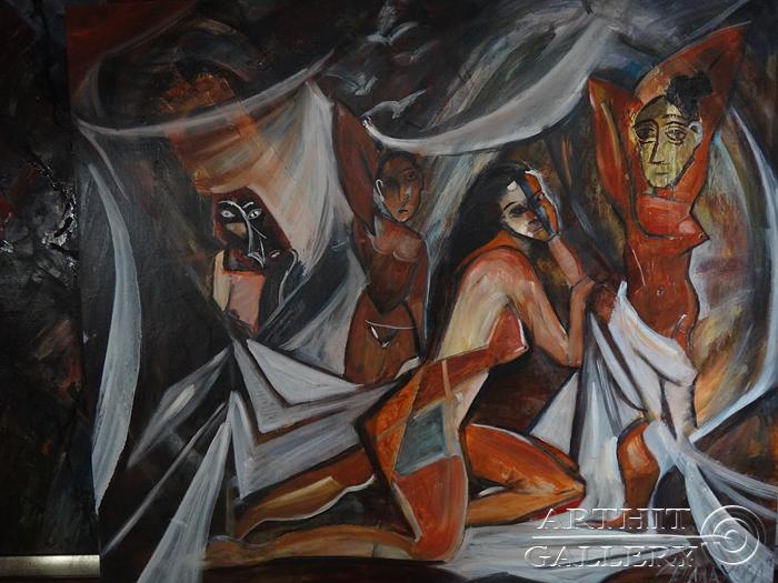 ''Атмосфера''.  Малахова Светлана. Продажа картин, предметов декоративно-прикладного искусства