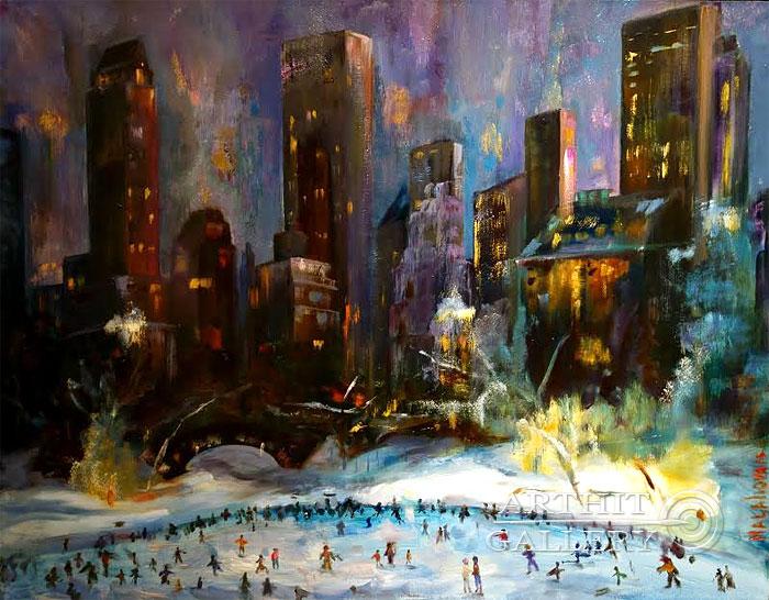 'New York. Rink'. Malakhova Svetlana
