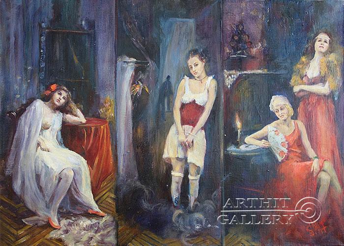 'Brothel. Four rooms'. Malakhova Svetlana