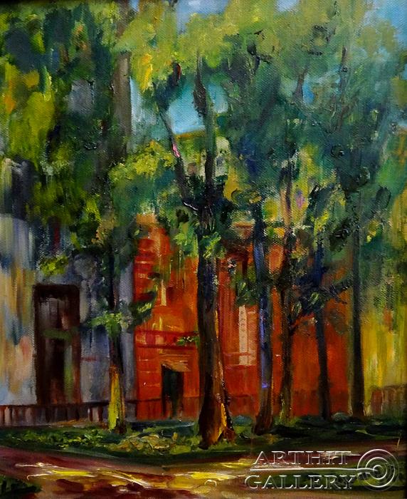 ''Старая Москва''.  Малахова Светлана. Продажа картин, предметов декоративно-прикладного искусства