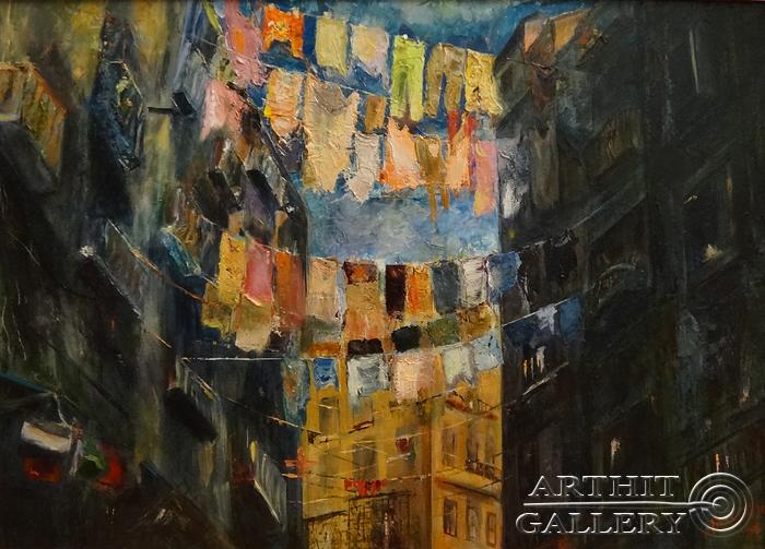 ''Сплетни Неаполя''.  Малахова Светлана. Продажа картин, предметов декоративно-прикладного искусства