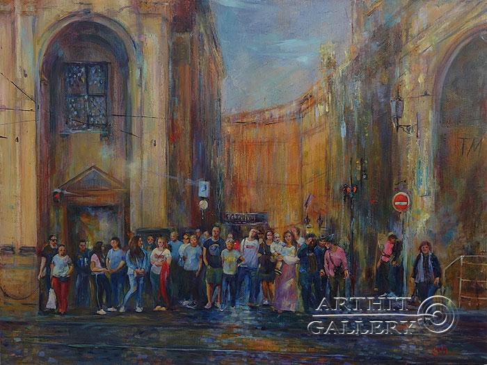 'Red light. Prague.'. Malakhova Svetlana