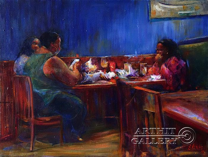 'Bar. `Red Lobster`'. Malakhova Svetlana