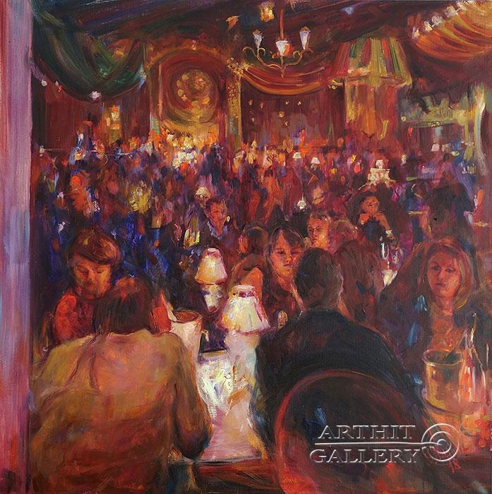 'Moulin rouge'. Malakhova Svetlana