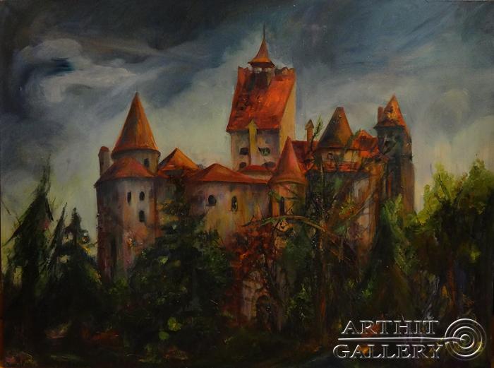 ''Трансильвания''.  Малахова Светлана. Продажа картин, предметов декоративно-прикладного искусства