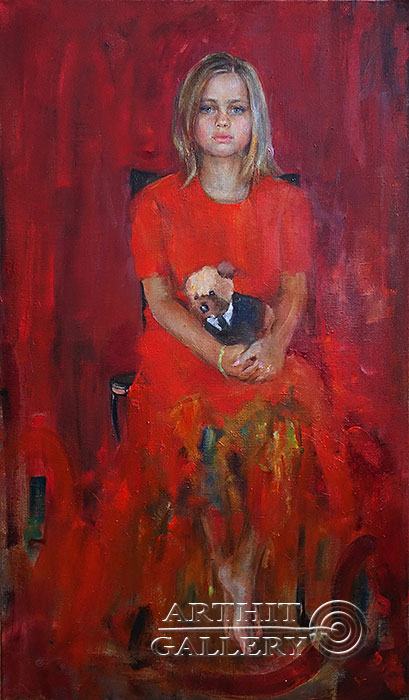 'Alice in her mother`s dress'. Malakhova Svetlana