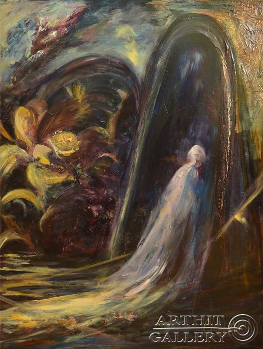 ''Диптих `Изгнание`''.  Малахова Светлана. Продажа картин, предметов декоративно-прикладного искусства