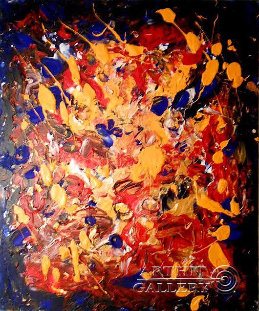 ''Праздник''.  Горбатюк Андрей. Продажа картин, предметов декоративно-прикладного искусства