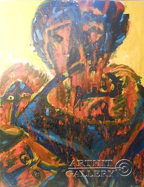 ''Пьета''.  Горбатюк Андрей. Продажа картин, предметов декоративно-прикладного искусства