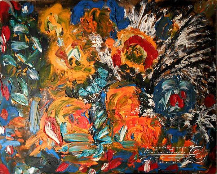 ''Сказка''.  Горбатюк Андрей. Продажа картин, предметов декоративно-прикладного искусства