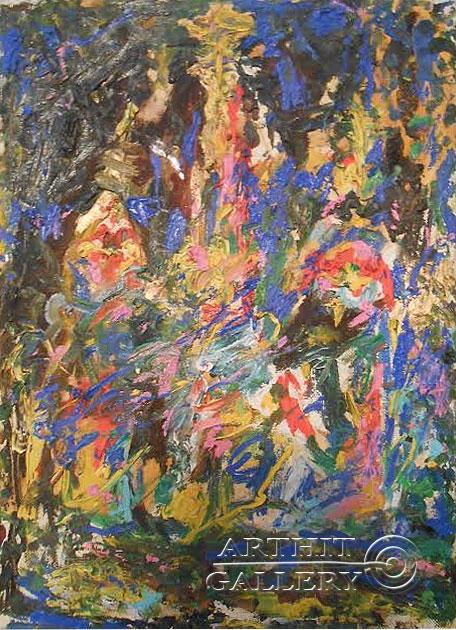 ''Храм Василия Блаженного''.  Горбатюк Андрей. Продажа картин, предметов декоративно-прикладного искусства