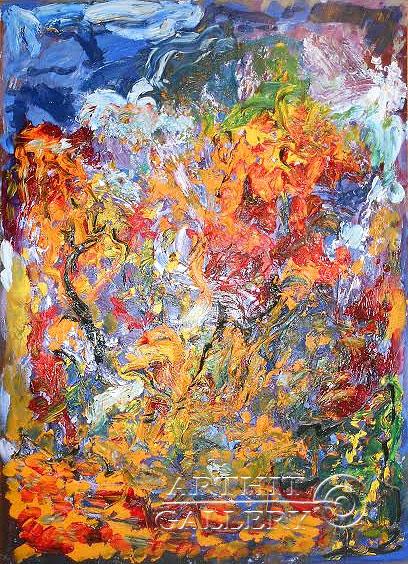 ''Осень''.  Горбатюк Андрей. Продажа картин, предметов декоративно-прикладного искусства