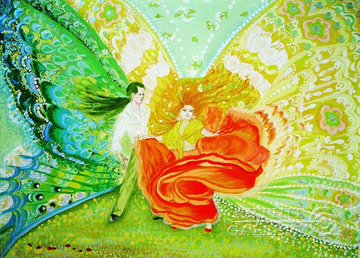 ''Танец''.  Ал Любовь. Продажа картин, предметов декоративно-прикладного искусства