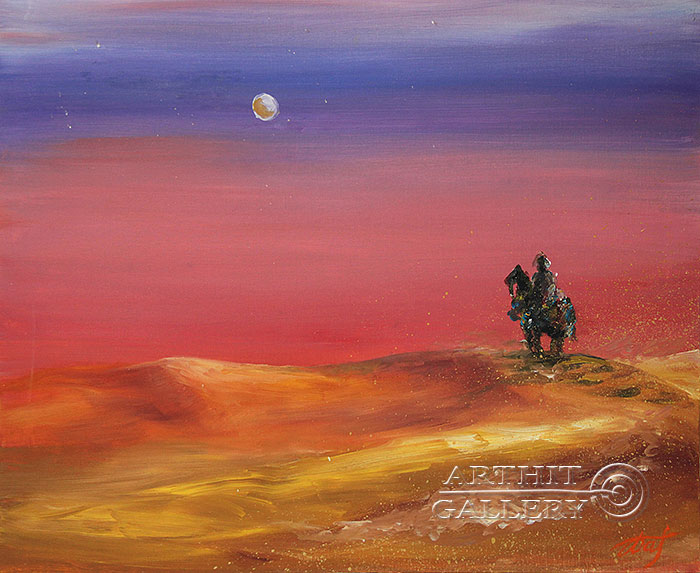 'Wanderer in the desert'. Pavlovich Anna