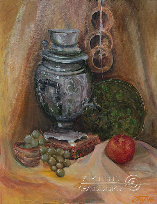 'Russian Still Life'  by Pavlovich Anna