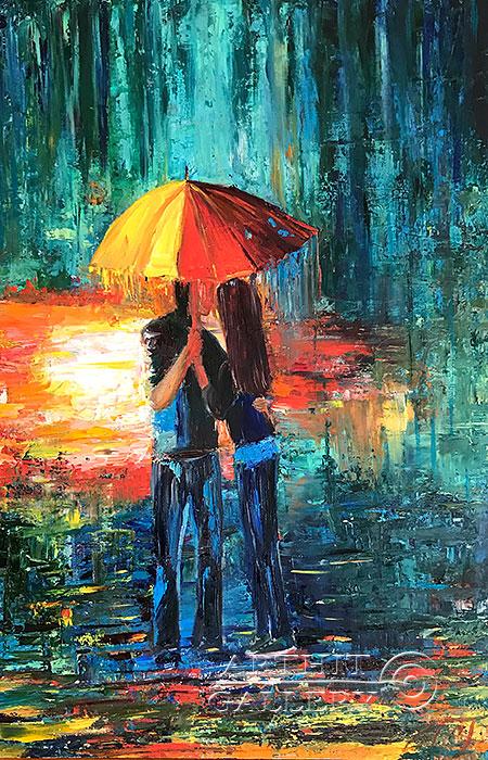 'Rain'. Pavlovich Anna