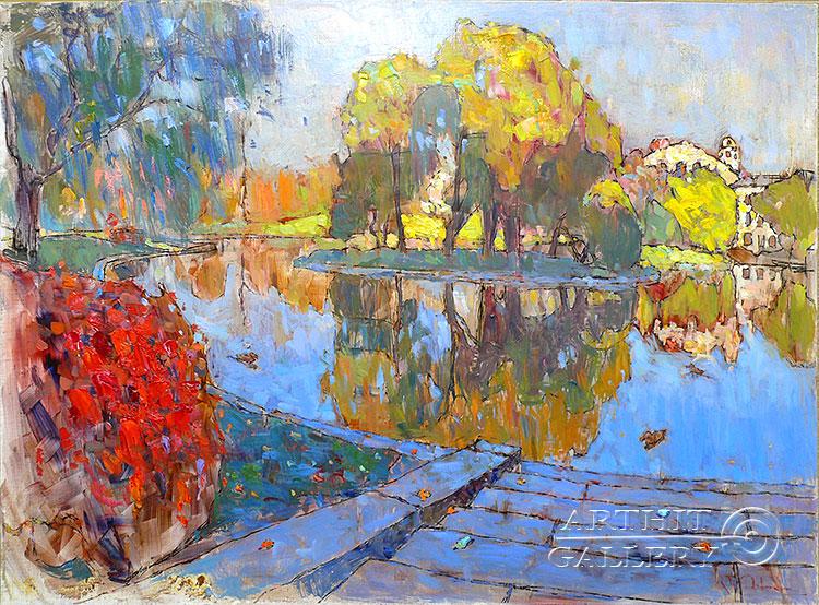 'Autumn in the Park'. Devochkin Kirill