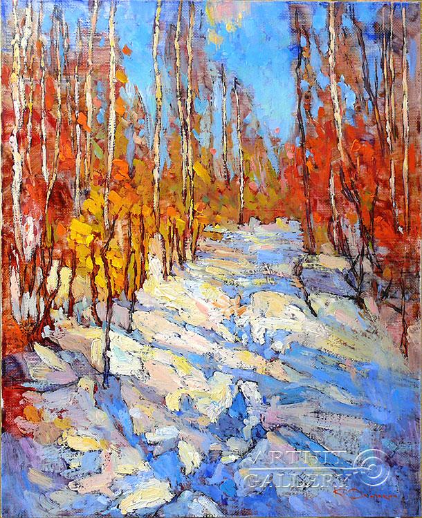 'Evening Water'. Devochkin Kirill