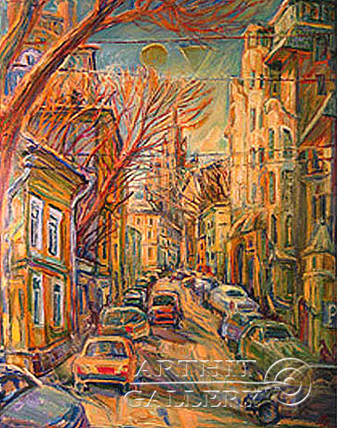 'Spring in the city'. Medyantzev Vladimir