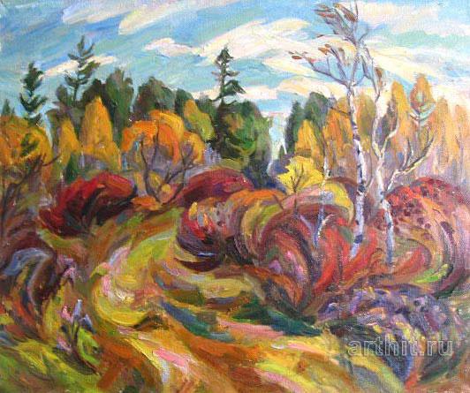 'Autumn motive'. Ponomareva Oksana
