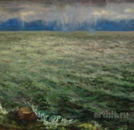 'In a shroud of rain'. Ponomareva Oksana